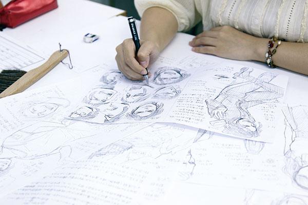 漫画 通信講座
